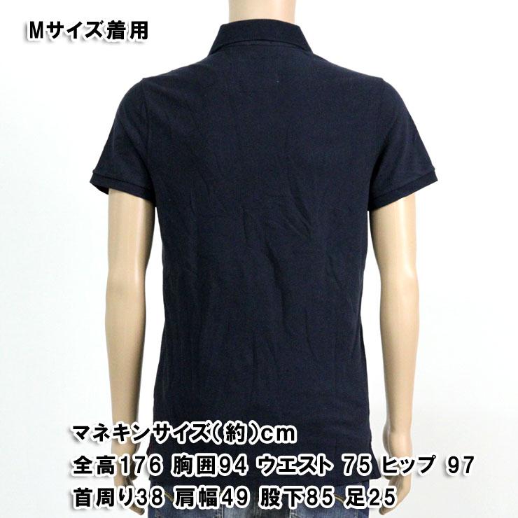 アバクロ Abercrombie&Fitch 正規品 メンズ ポロシャツ ICON POLO 121-224-0594-023