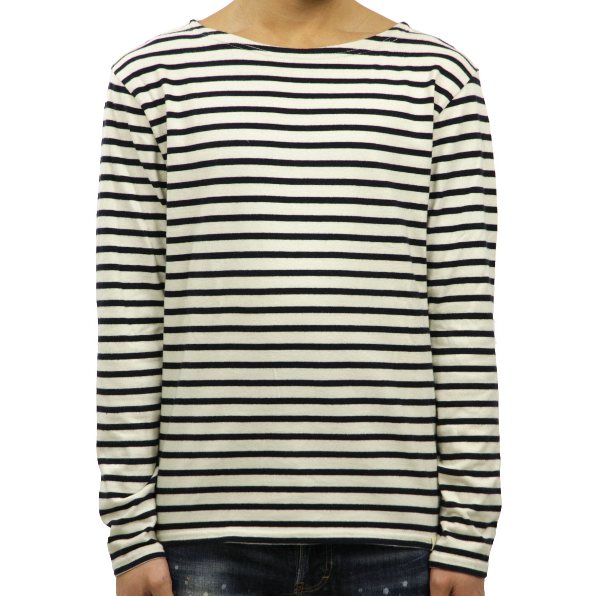 Article T Shirt Neck Ralph Laurenamp; And Men Polo Boat Cotton Supply Sleeves Jersey Regular Long Pullover Denim Striped QBeCrxWdo