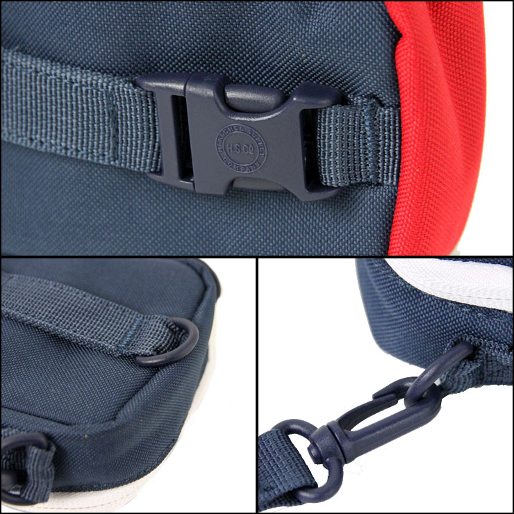ハーシェル Herschel Supply 正規販売店 ケース Ellison Accessories Tech Case 10243-00018-OS Navy/Red