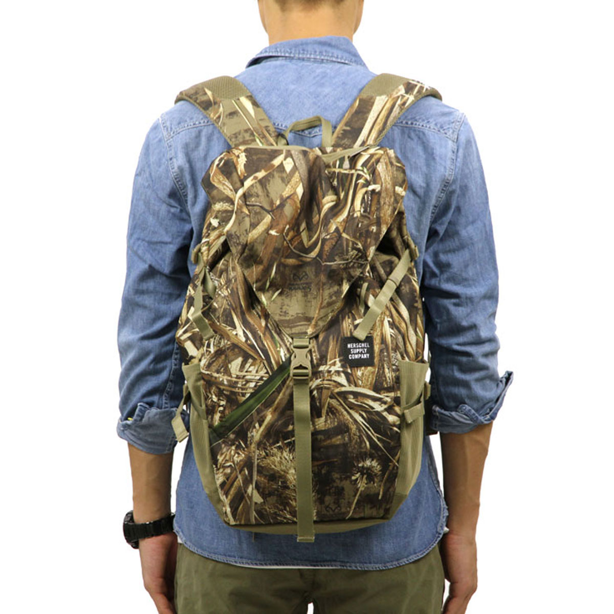 Hershel Herschel Supply regular store bag BARLOW BACKPACK LARGE TRAIL  10319-01454-OS REALTREE 01db535fe5939