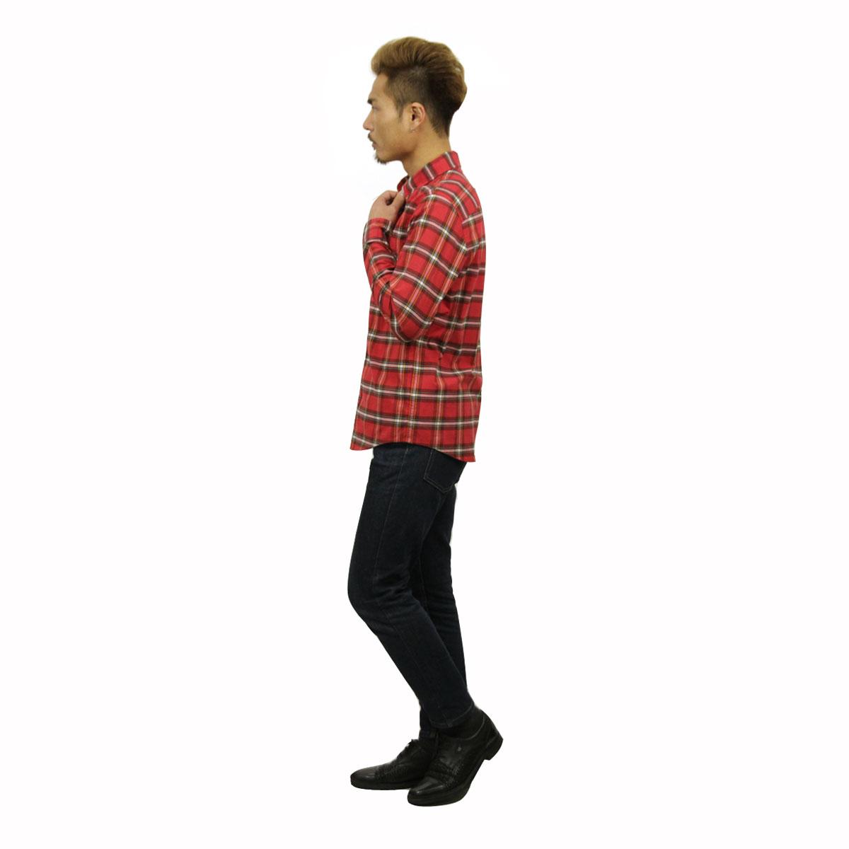 ホリスター HOLLISTER 正規品 メンズ 長袖シャツ  Plaid Poplin Shirt Epic Flex Slim Fit 325-259-1584-508
