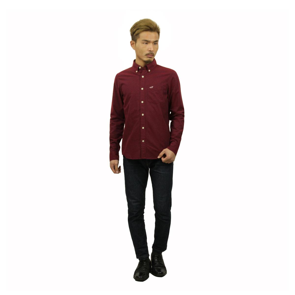 ホリスター HOLLISTER 正規品 メンズ 長袖シャツ  Solid Oxford Shirt 325-259-1574-520