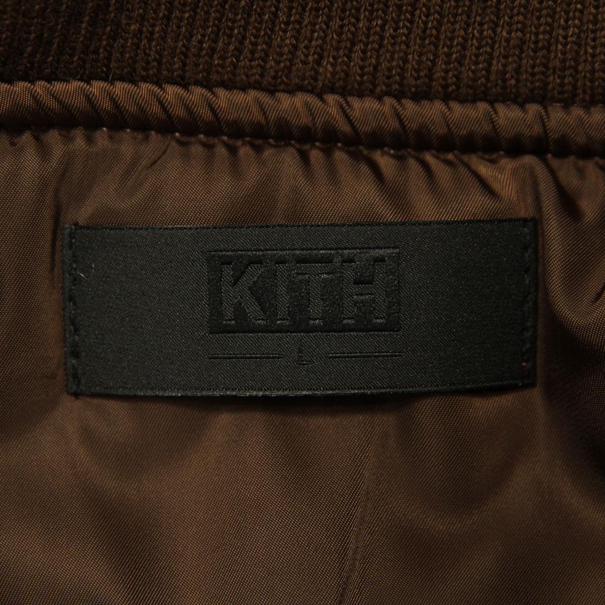 キス KITH 正規品 メンズ MA-1  KITH CLASSICS ASTOR BOMBER SAND KH1046-104