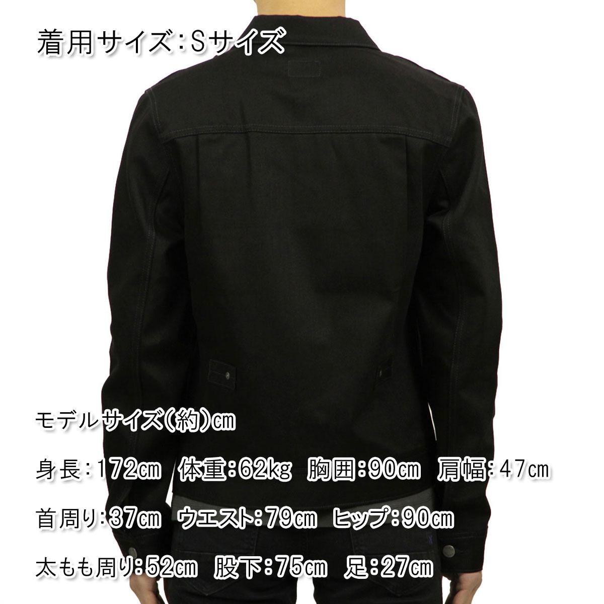 ヌーディージーンズ Nudie Jeans 正規販売店 メンズ アスタージャケット  Denim Jacket Sonny Black 160443