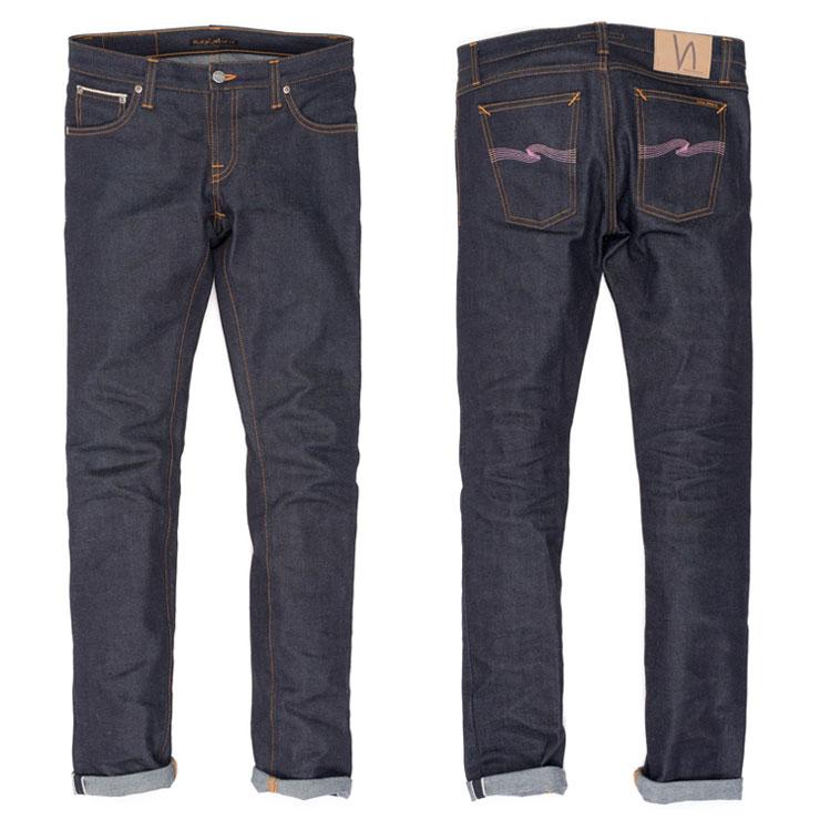 ヌーディージーンズ Nudie Jeans 正規販売店 メンズ ジーンズ  Brute Knut Blue Reed 565 1120770