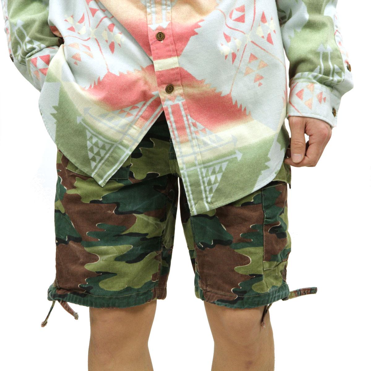 Lauren Pants Print Regular Camo Ralph Article Bottoms Corporal Short Polo Men's J1FTlKc