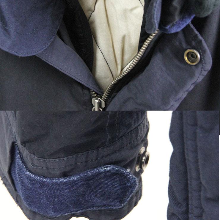 スコッチアンドソーダ SCOTCH&SODA 正規販売店 メンズ アウタージャケット Winter parka with subtle color blocking, detachable hood and lining. 132313 57