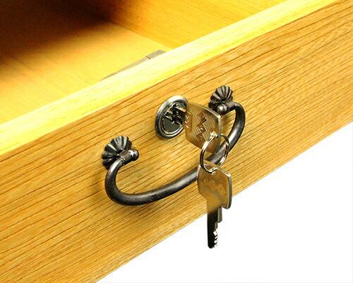 賽銭箱 箱型(鍵・引出付) 栓材