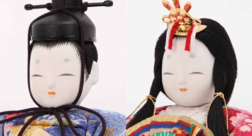 雛人形 雛人形 木目込み ひな人形 雛 一秀 丸窓f 十五人飾り 豪華お道具セット付 送料無料 木目込み雛人形 2 枚目