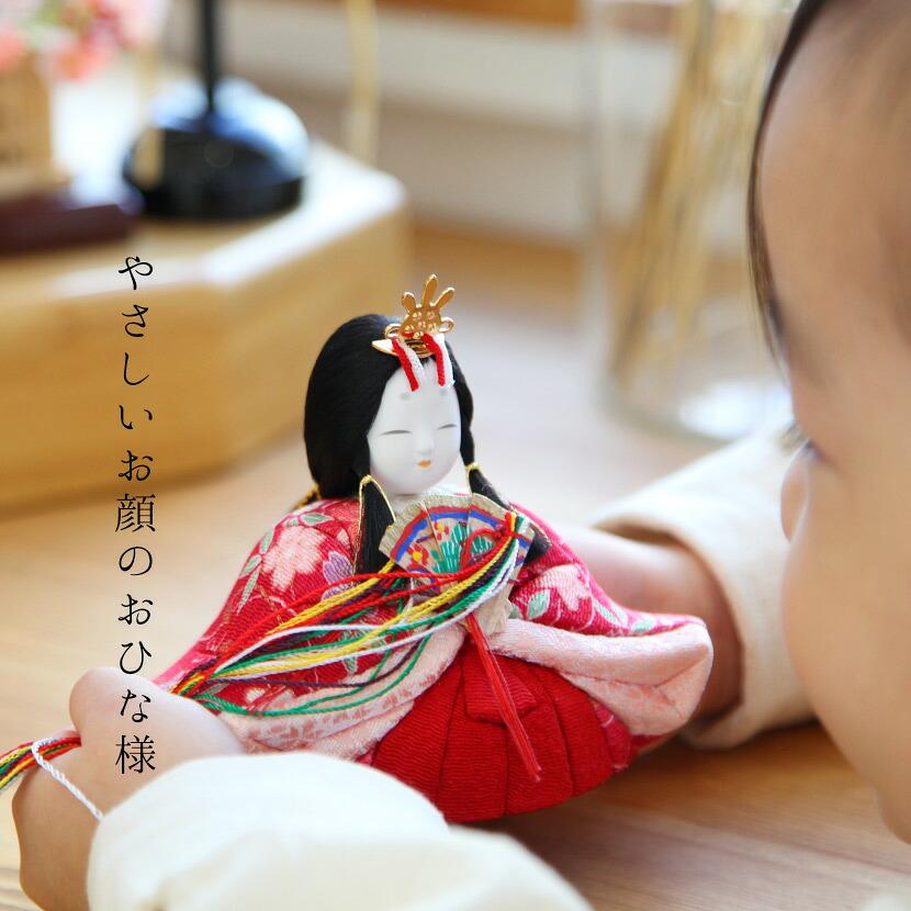 雛人形 雛人形 木目込み ひな人形 雛 一秀 丸窓f 十五人飾り 豪華お道具セット付 送料無料 木目込み雛人形 4 枚目