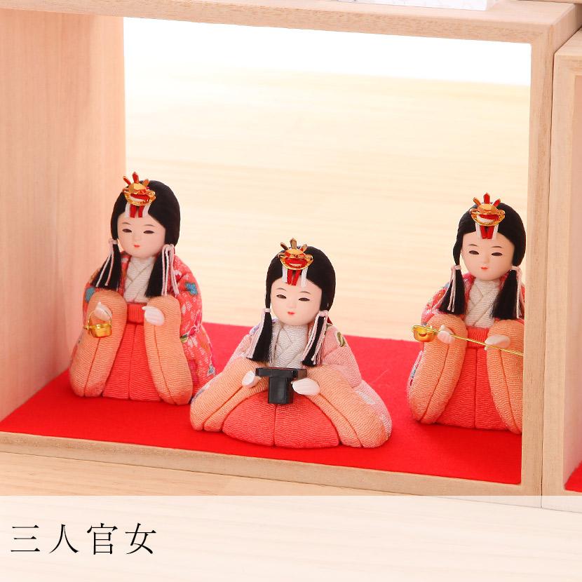 新井久夫 ひなまり 枠-WAKU 十人飾 4 枚目