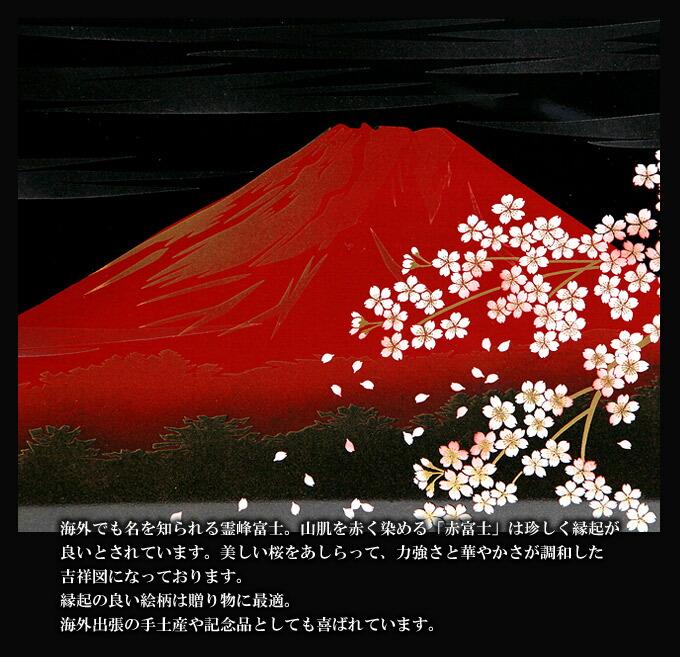 富士さくら 屏風時計