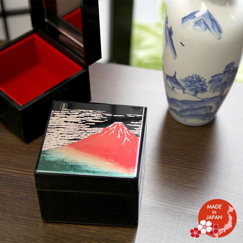 漆工芸 小箱 小物入れ 蒔絵 おみやげ 日本製