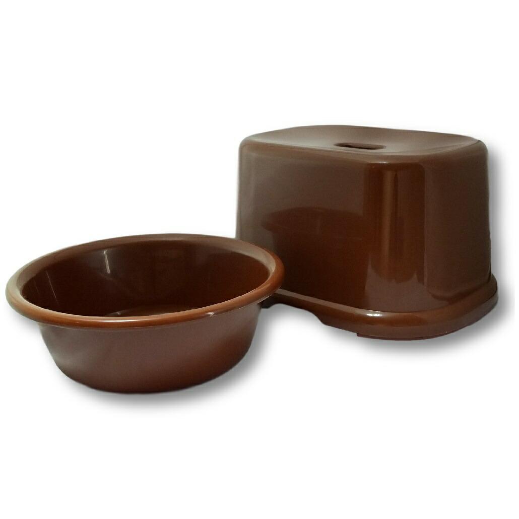 風呂イス&湯桶セット