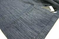 紳士久留米織作務衣(綿100%紬節織り作務衣)上着ポケット
