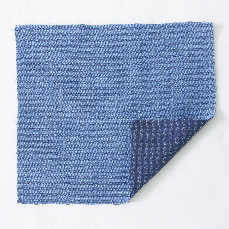 zigzag ブルーの写真