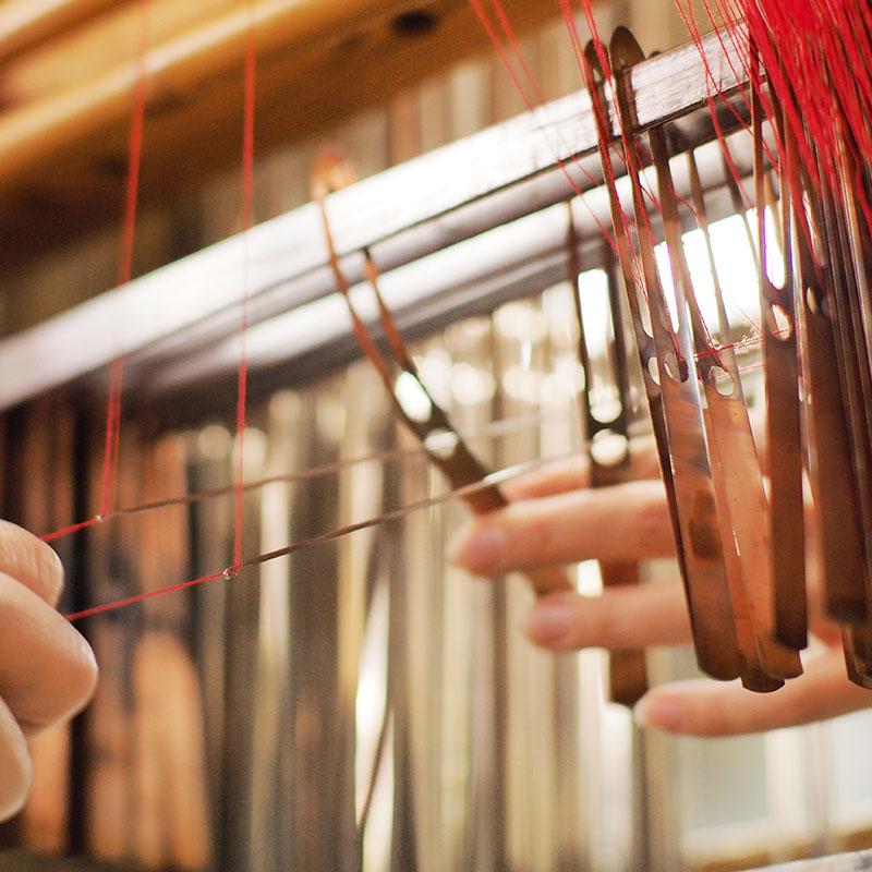 和木綿の織り
