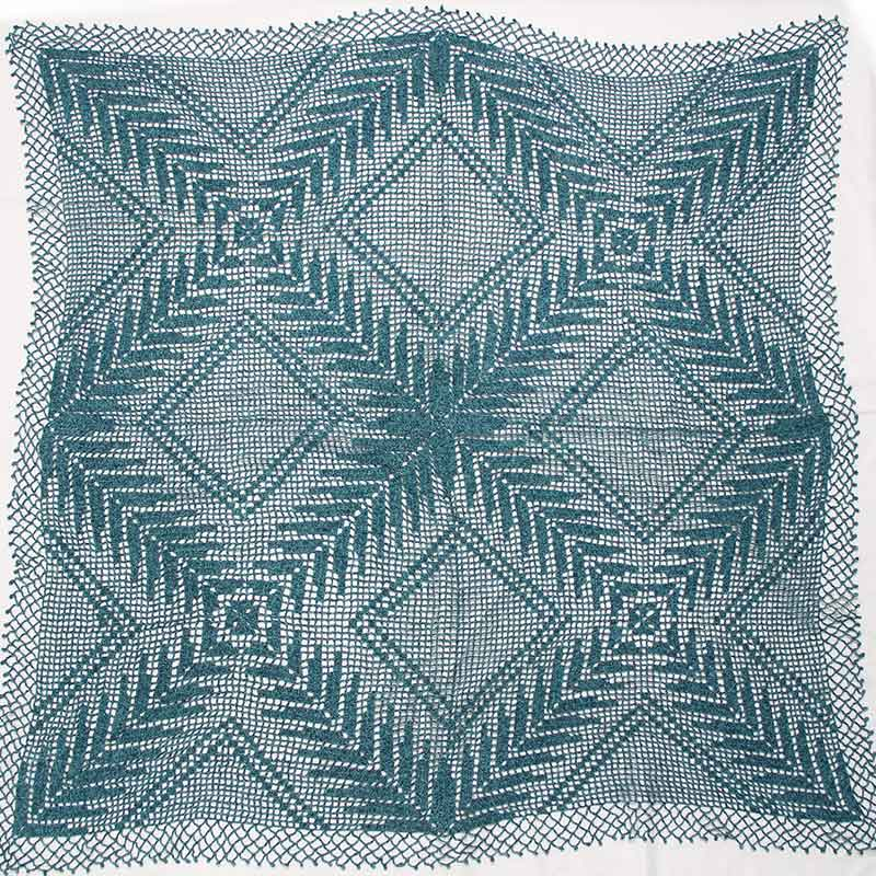 織り糸ハンドメイトイメージ(作品例:レース編み)