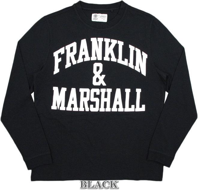 フランクリンと言えば、コレ♪何枚有っても困らない 定番アーチロゴ長袖Tシャツの最新作★FRANKLIN&MARSHALL,フランクリンアンドマーシャル,LONG-SLEEVED T-SHIRT,アーチロゴ プリント長袖Tシャツ,カットソー,SKU #TSMF249XNW18