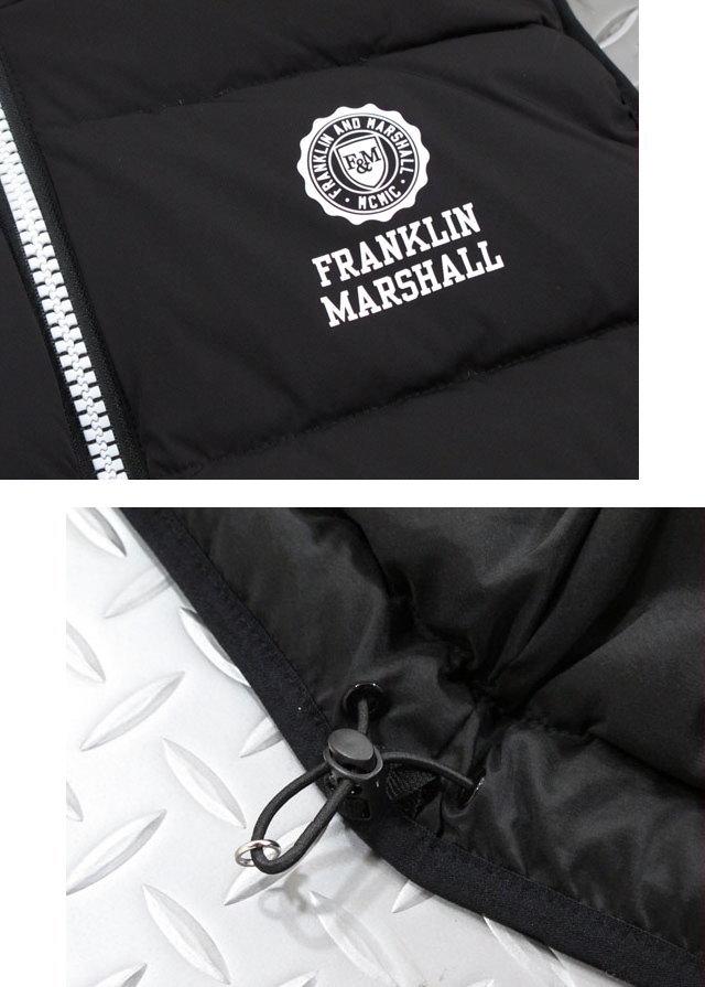 サラリと羽織れば、いつもの着こなしが変わる!FRANKLIN&MARSHALL,フランクリンアンドマーシャル,JACKET NYLON ZIP NO SLEEVE,ダウンベスト,SKU# JKMF412ANW18