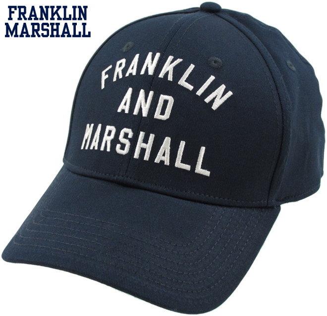 オシャレの仕上げにいかがでしょう?フランクリンの新型アーチロゴ刺繍入り、ベースボールキャップ★FRANKLIN&MARSHALL,フランクリンアンドマーシャル,CAPS,アーチロゴ刺繍入り、ベースボールキャップ,#CPUA906S18,NAVY(ネイビー)