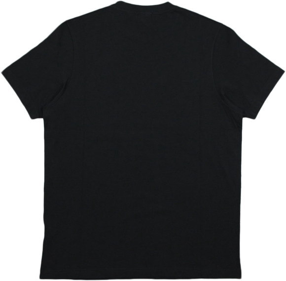 イタリア解釈のアメリカンカレッジ&スポーツスタイルとリアルヴィンテージはますます健在★FRANKLIN&MARSHALL,フランクリンアンドマーシャル,TSHIRT JERSEY ROUND NECK SHORT,半袖プリントTシャツ,カットソー,#TSMF331ANS19,BLACK(ブラック)