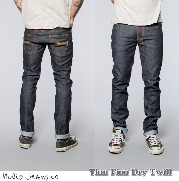 nudie jeans co thin finn tight fit. Black Bedroom Furniture Sets. Home Design Ideas