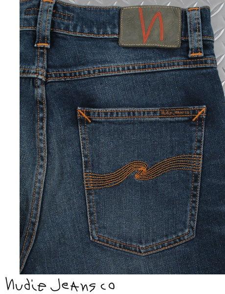 人気の定番モデルTHIN FINN(シンフィン)をブラッシュアップ★Nudie Jeans co,ヌーディージーンズ,LEAN DEAN,リーンディーン,DEEP DARK INDIGO,ディープダークインディゴ,12 oz. comfort stretch denim,ストレッチ・スキニーデニムパンツ