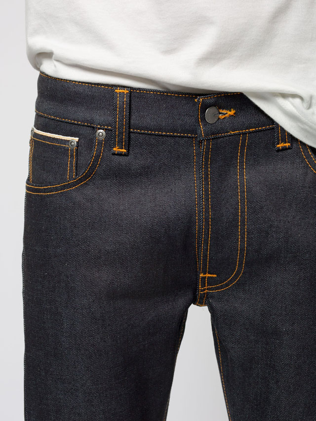 Nudie Jeans co,ヌーディージーンズ,LEAN DEAN,リーンディーン,DRY JAPAN SELVAGE,ドライ ジャパンセルヴィッチ,13.5 oz. Japanese comfort stretch selvage denim