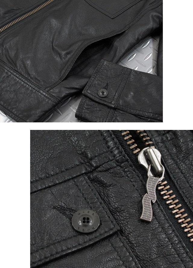 ���դ��饤�������������դˤ������ǥ���˻Ȥ��롢�����ʹ��쥶��,Nudie Jeans co,�̡��ǥ���������,��HEATH��,LEATHER JACKET,���쥶�����㥱�å�,���դ��쥶�����㥱�å�,BLACK(�֥�å�)