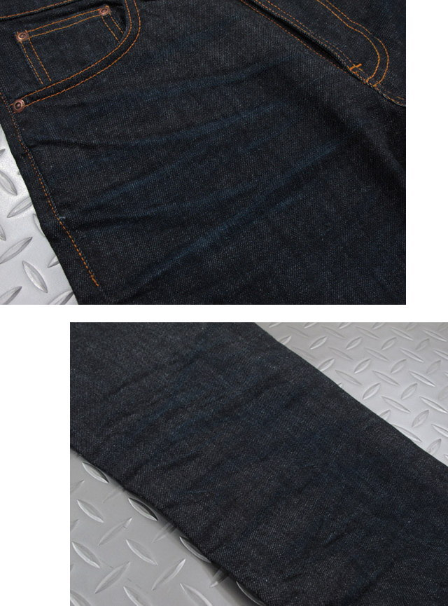LEAN DEAN/リーンディーンのシンプルウォッシュカラー★Nudie Jeans co,ヌーディージーンズ,LEAN DEAN,リーンディーン,CRINKLE BLUES,クリンクルブルース,12oz. comfort stretch denim,ストレッチ・スキニーデニムパンツ