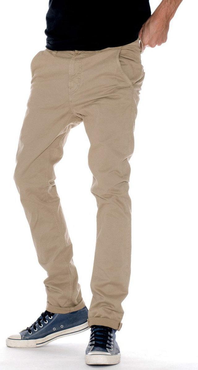 大人カジュアルにふさわしい、品格あふれる美脚パンツ!Nudie Jeans co,ヌーディージーンズ,SLIM ADAM,スリムアダム,トラウザーパンツ,チノパン,BEIGE(ベージュ)