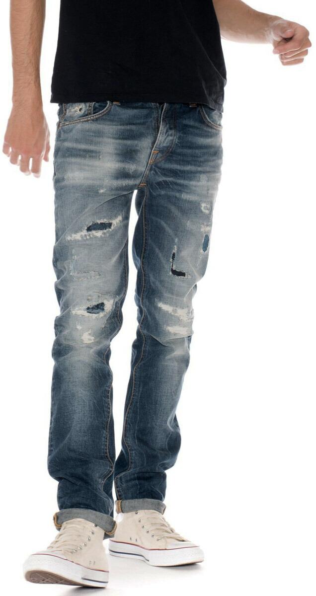 太股やお尻周りが、がっちりしていても★すらっとキレイに穿きこなせる、綺麗なテーパードライン♪Nudie Jeans co,ヌーディージーンズ,GRIM TIM,グリムティム,DAVID REPLICA,デービットレプリカ,クラッシュ&リペアジーンズ