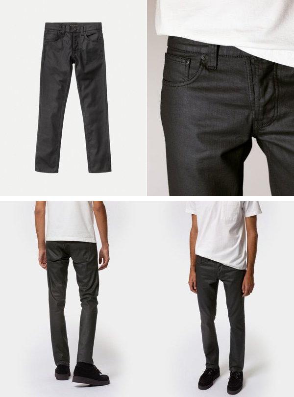 Nudie Jeans co,ヌーディージーンズ,GRIM TIM,グリムティム, DRY BLACK MIND,ドライ ブラック マインド,コーティングブラックジーンズ