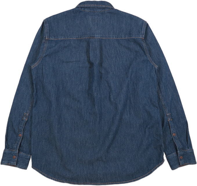 Nudie Jeans,ヌーディージーンズ,ALBERT,MID WORN,ミッドウォーン,One-pocket, regular fit, shirt made in soft denim with a lovely structure.,デニムシャツ,カッパーボタンデニムシャツ