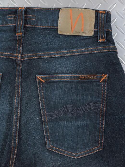 Nudie Jeans co,ヌーディージーンズ,GRIM TIM,グリムティム,straight slim fit with normal rise,VENTURA BLUE,ベンチュラブルー