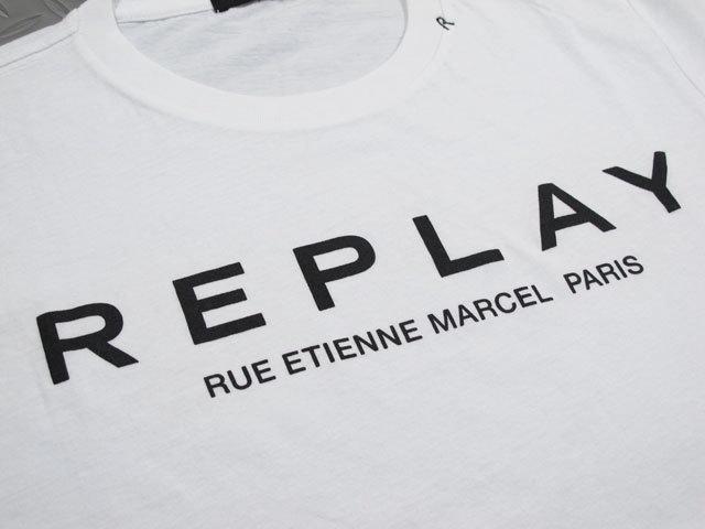 Replay Paris Print T Shirt