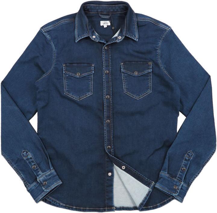 Pepe Jeans,ペペジーンズ,PM307269HG4,NEW JEPSON GYMDIGO SHIRT,ジムディゴ ウェスタンシャツ,ストレッチ デニムウェスタン,INDIGO(インディゴ)
