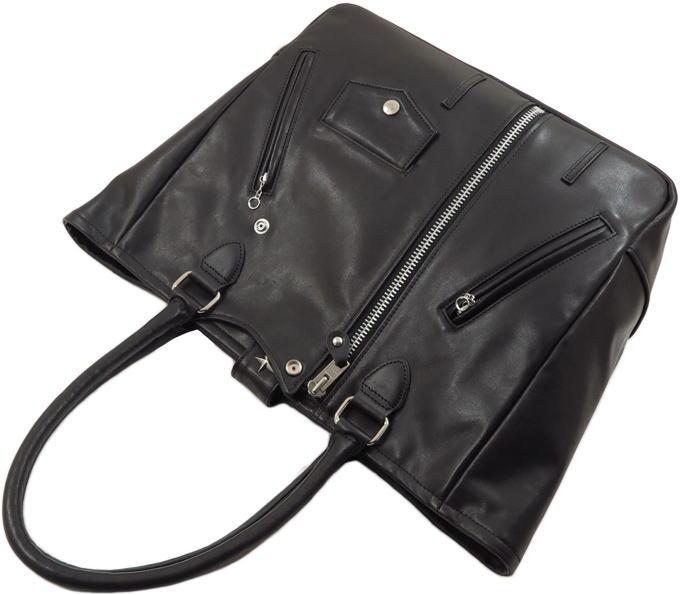 Schott,ショット,RIDERS TOTE BAG,ライダーストートバッグ,ワンスターレザートートバッグ,BLACK(ブラック),3119054