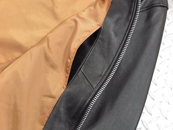 Retro Grade TOKYO,レトログレード トーキョー,Art.8591035,SINGLE RIDERS,シングルライダースジャケット,レザージャケット,BLACK×SILVER(ブラック×シルバージッパー)