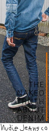 """履き続けるうちにジーンズが、その人の第二の肌になる。""""それがNudie Jeansのコンセプト★"""