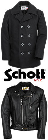1913年、ニューヨークイーストブロードウェイにて、アーヴィンとジョンのショット兄弟によりスタートしたSchott(ショット)。一世紀近くに及ぶ古き良き時代の物作りを受け継いでいる数少ないブランドの一つです。