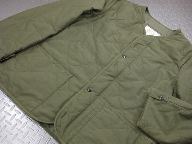 """バズリクソンズM-65フィールドジャケットに簡単取り付け★そのままでも着られちゃう、防寒性を高めるライナージャケット。BUZZ RICKSON'S,バズリクソンズ,LINER, EXTREME COLD WEATHER, COAT, Type M-65 LINER, M65ジャケットライナー,M-65ライナー,""""BUZZ RICKSON MFG.CO.,INC"""",BR13049,"""