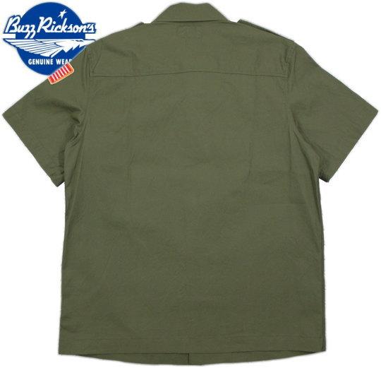 バズリクソンズとスヌーピー、夢のコラボレーション♪BUZZ RICKSON'S×PEANUTS,バズリクソンズ×ピーナッツ,VIET-NAM UTILITY SHIRT,スヌーピーワッペン付き、半袖ベトナム・ユーティリティーシャツ,149 OLIVE(オリーブ)/BR37327