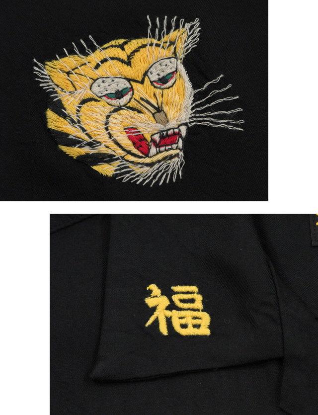 """本物のスカシャツをお探しなら、迷わずコレ!TAILOR TOYO,テーラートーヨー,S/S VIET-NAM SHIRT""""QUINHON"""",半袖ベトシャツ,ベトナムシャツ,BLACK(ブラック),TT37602"""