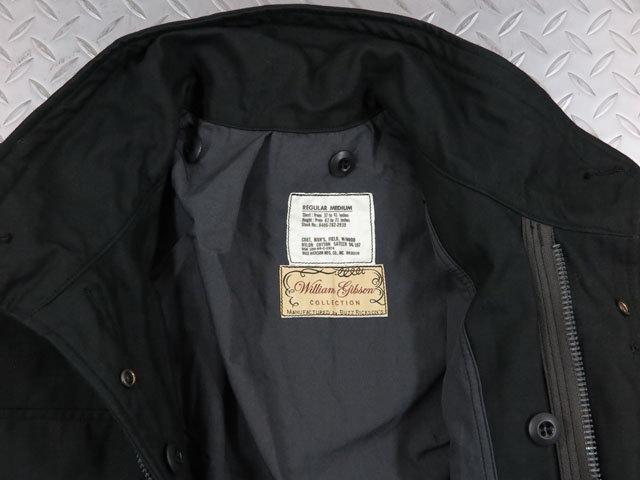 BUZZ RICKSON'S,バズリクソンズ,BLACK M-65 with LINER,William Gibson Collection,ウィリアム・ギブソン コレクション、キルティングライナー付きブラックM-65フィールドジャケット,3WAY・M-65ジャケット,BR14423