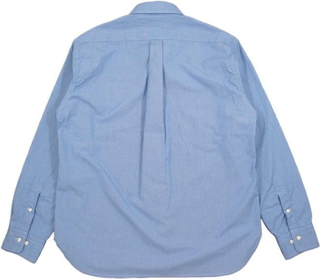 シンプルさとスマートさがウリ★プレッピーな雰囲気が魅力の千鳥格子ボタンダウンシャツ♪SUGAR CANE Light,シュガーケーン ライト,HOUNDTOOTH L/S B.D SHIRT,ハウンドトゥース、ボタンダウンシャツ,千鳥格子ボタンダウンシャツ,SC28168,BLUE(ブルー)