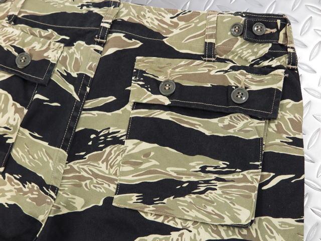 BUZZ RICKSON'S,バズリクソンズ,GOLD TIGER PATTERNS PANTS,ゴールド・タイガーCAMO、ミリタリーカーゴパンツ,CAMOカーゴ,BLACK(ブラック),BR41903