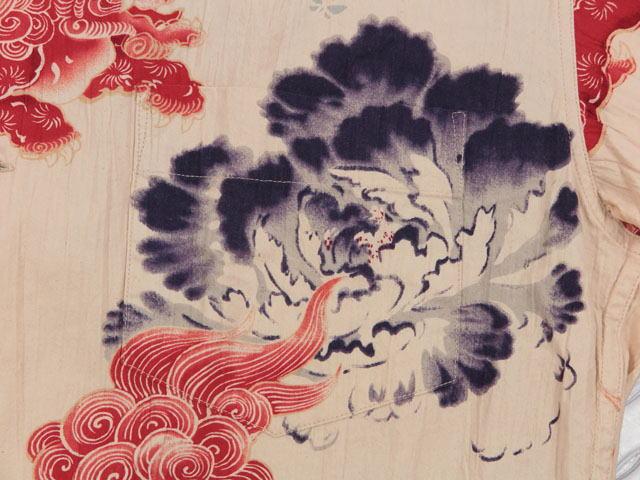 "SUN SURF Special Edition,サンサーフ・スペシャルエディション,""唐獅子牡丹 KARAJISHI BOTAN"",OFF WHITE(オフホワイト),SS38550"