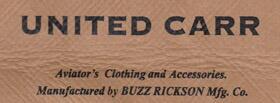 BUZZ RICKSON'S(バズリクソンズ)の弟分といえるブランド、UNITED CARR(ユナイテッド・カー)